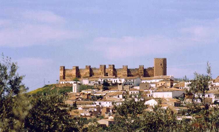 Castillo De Banos De La Encina Iberhistoria